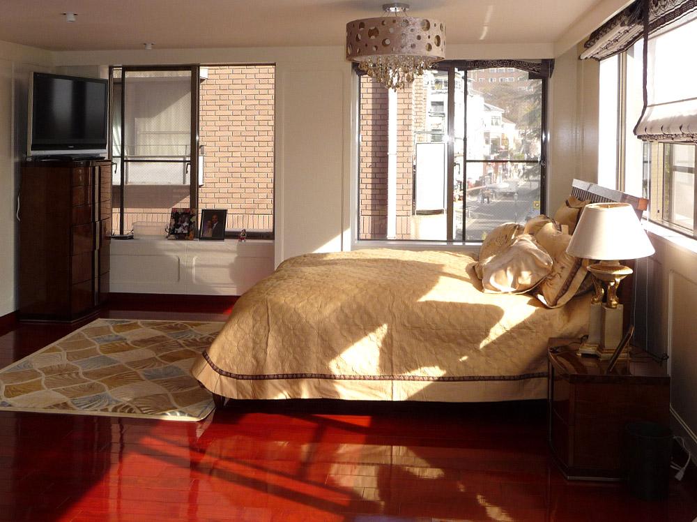 神戸市・J邸3階主寝室