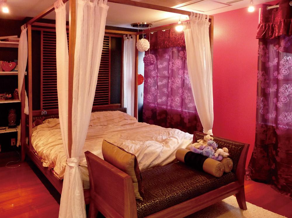 神戸市・J邸4階ベッドルーム