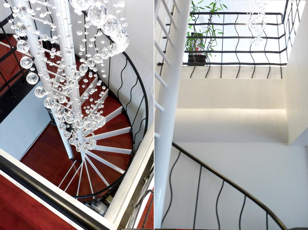 神戸市・J邸螺旋階段