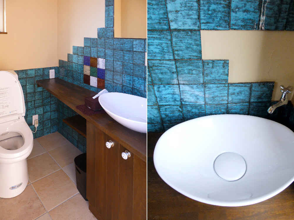 兵庫県姫路市・山吹モデルハウストイレ