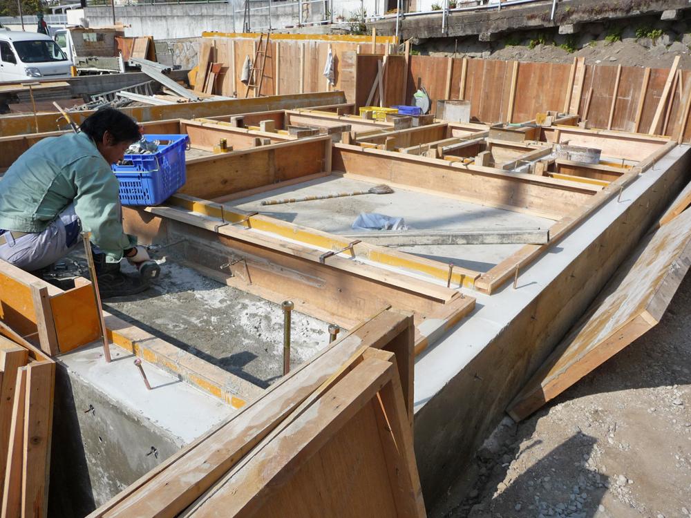 神戸市・O邸基礎工事