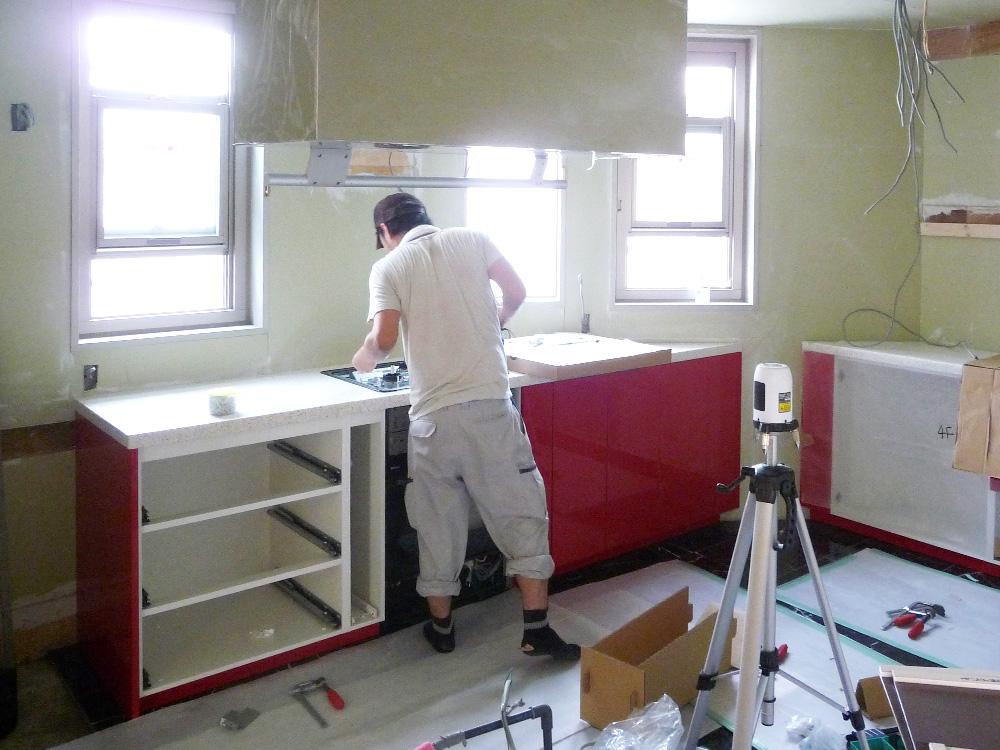 町J邸リフォーム造作キッチン