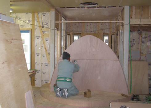 西宮市・S邸新築工事: 内装工事