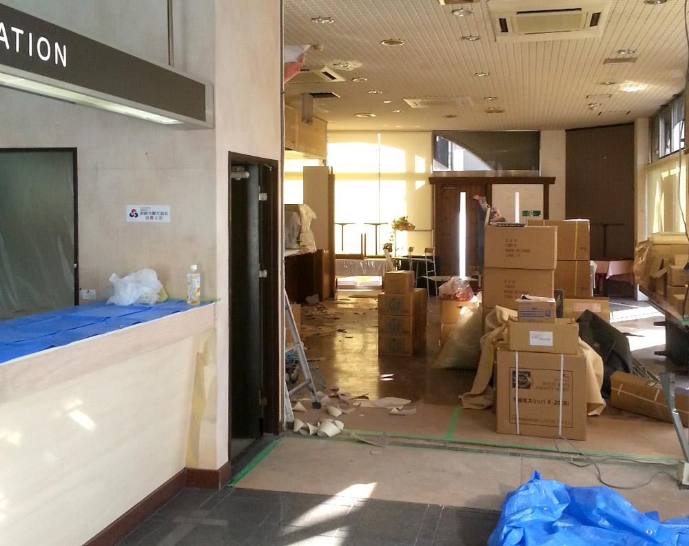 ホテル宮崎シティー改装工事